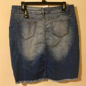 Dresses & Skirts - 🔴BOGO Cute Denim- Jean Skirt